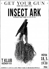 GET YOUR GUN (DK), INSECT ARK (USA)